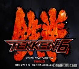 tekken 6 free roms