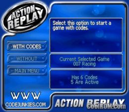 action replay pour emulateur psx