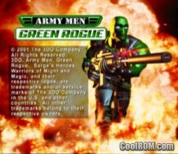 Army Men - Green Rogue ROM (ISO) Download for Sony