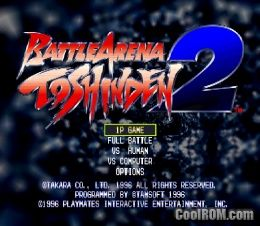 Battle Arena Toshinden 2 Rom Iso Download For Sony Playstation
