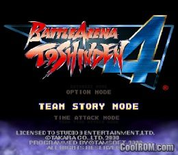 Battle Arena Toshinden 4 Europe Rom Iso Download For Sony