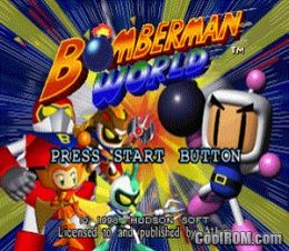 Bomberman World ROM (ISO) Download for Sony Playstation / PSX