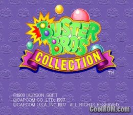Buster Bros  Collection ROM (ISO) Download for Sony Playstation
