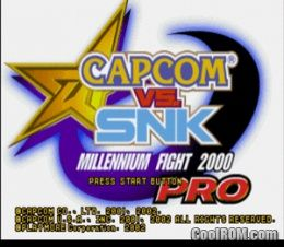 Capcom vs  SNK Pro ROM (ISO) Download for Sony Playstation / PSX