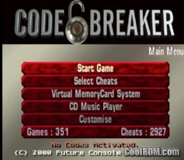 Code Breaker (Unl) ROM (ISO) Download for Sony Playstation / PSX