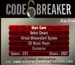 codebreaker ps2 v11 iso