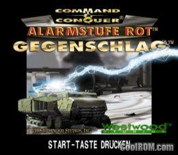 Command & Conquer - Red Alert - Retaliation (Disc 1) (Allies) ROM