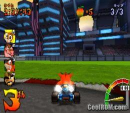 crash bandicoot racing japan rom iso download for sony