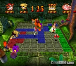 Crash Bash & Spyro - Year of the Dragon (Demo) ROM (ISO