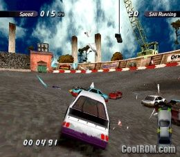 Destruction Derby 2 ROM (ISO) Download for Sony Playstation / PSX