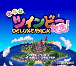 Detana Twinbee Yahho Deluxe Pack Japan Rom Iso Download For Sony Playstation Psx Coolrom Com
