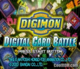 Digimon Digital Card Battle ROM (ISO) Download for Sony Playstation