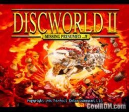 Discworld Ii Missing Presumed Europe Rom Iso Download For