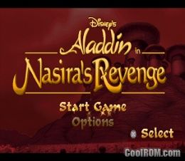 Disney's Aladdin in Nasira's Revenge ROM (ISO) Download for Sony
