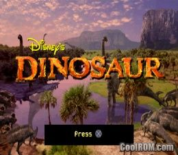 Disney's Dinosaur ROM (ISO) Download for Sony Playstation