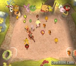 Disney S Pooh S Party Game In Search Of The Treasure Rom
