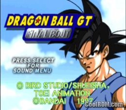 Dragon Ball Gt Final Bout Rom Iso Download For Sony Playstation Psx Coolrom Com