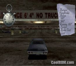 Driver - You Are the Wheelman ROM (ISO) Download for Sony