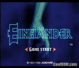 Einhander ROM (ISO) Download for Sony Playstation / PSX - CoolROM com
