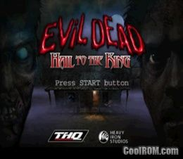 Evil Dead Hail To The King Europe Disc 2 Rom Iso Download For Sony Playstation Psx Coolrom Com