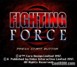 Fighting Force (v1 1) ROM (ISO) Download for Sony