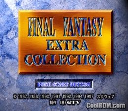 Final Fantasy Extra Collection (Japan) ROM (ISO) Download