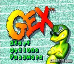 Gex ROM (ISO) Download for Sony Playstation / PSX - CoolROM com