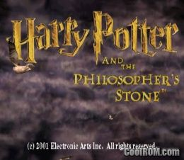 Harry Potter and the Philosopher's Stone (Europe) ROM (ISO
