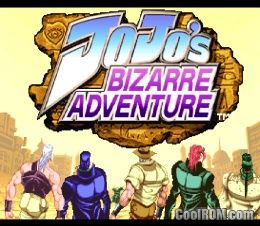 JoJo's Bizarre Adventure ROM (ISO) Download for Sony Playstation