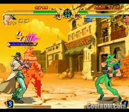 JoJo's Bizarre Adventure ROM (ISO) Download for Sony Playstation / PSX - CoolROM.com