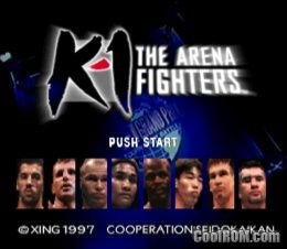 K-1 The Arena Fighters ROM (ISO) Download for Sony