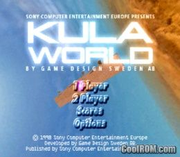 Kula World (Europe) ROM (ISO) Download for Sony Playstation / PSX
