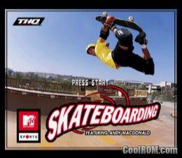mtv skateboarding