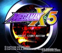 Mega Man X5 ROM (ISO) Download for Sony Playstation / PSX - CoolROM com