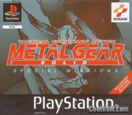 Metal Gear Solid - Special Missions (Europe) ROM (ISO) Download for