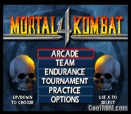 Mortal Kombat 4 ROM (ISO) Download for Sony Playstation