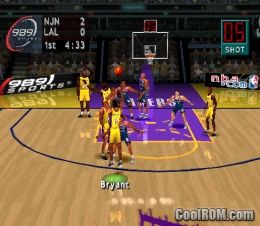 NBA ShootOut 2004 ROM (ISO) Download for Sony Playstation / PSX - CoolROM.com