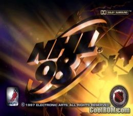 NHL 98 ROM (ISO) Download for Sony Playstation / PSX - CoolROM com