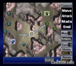 Nectaris - Military Madness ROM (ISO) Download for Sony Playstation