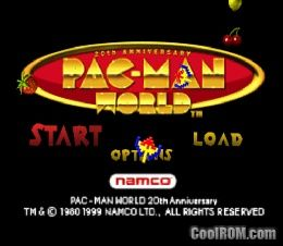 pac man world rom iso download for sony playstation psx