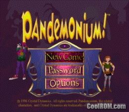 Pandemonium! (v1 0) ROM (ISO) Download for Sony Playstation / PSX