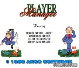 Premier manager 2000 (europe) rom (iso) download for sony.