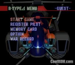 R-Type Delta ROM (ISO) Download for Sony Playstation / PSX