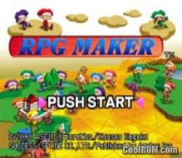 RPG Maker ROM (ISO) Download for Sony Playstation / PSX