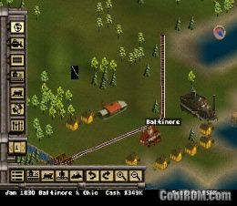 Railroad Tycoon II ROM (ISO) Download for Sony Playstation