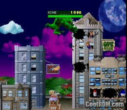 Play Rampage World Tour Online >> Rampage - World Tour ROM (ISO) Download for Sony Playstation / PSX - CoolROM.co.uk