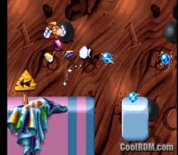 Rayman Brain Games ROM (ISO) Download for Sony Playstation / PSX