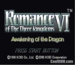 Romance of the Three Kingdoms VI - Awakening of the Dragon