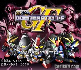 SD Gundam G-Generation F (Japan) (Disc 1) ROM (ISO) Download for