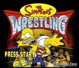 Simpsons The Wrestling Rom Iso Download For Sony